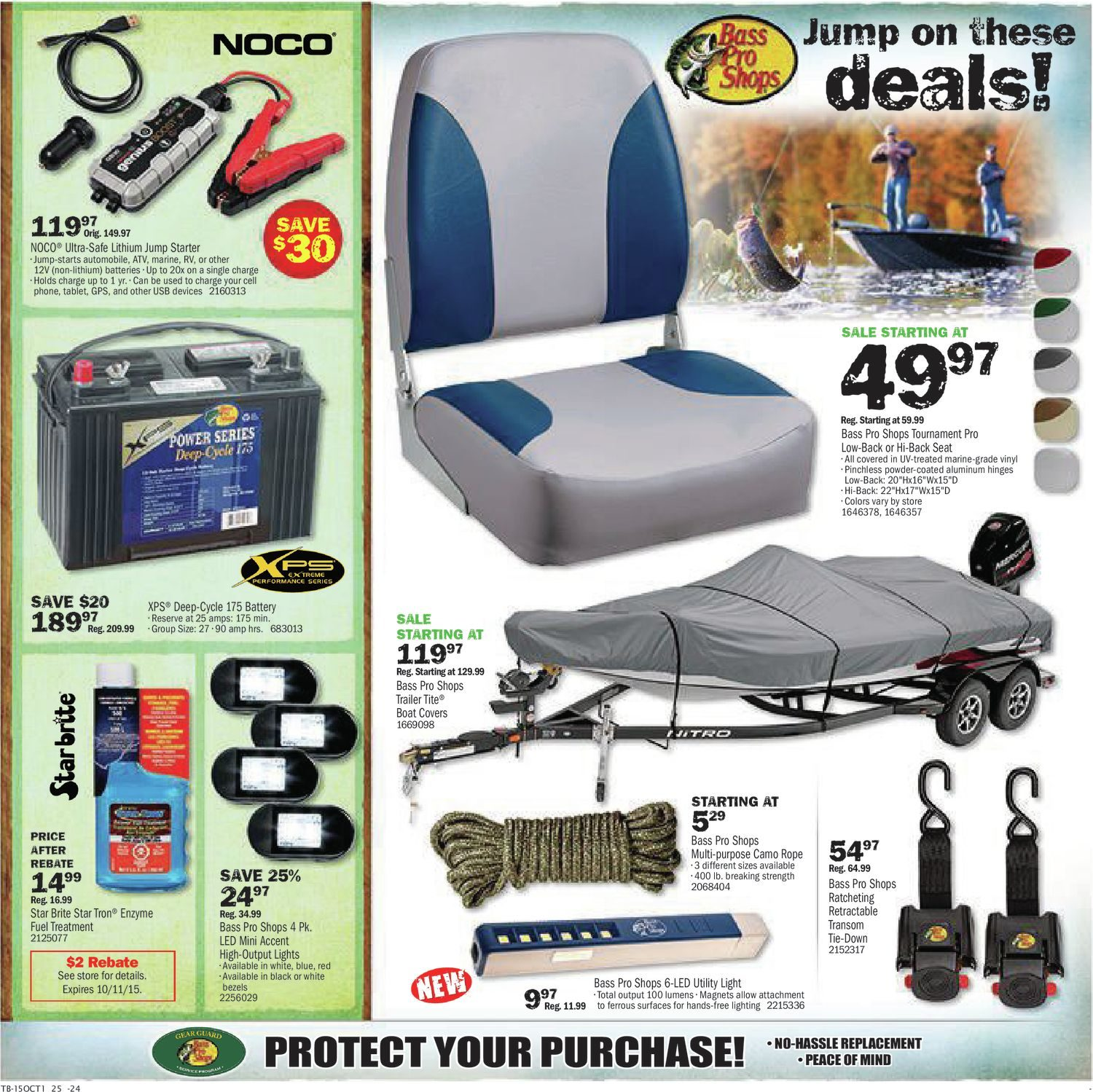 c80ae46f09b8 Bass Pro Shops Weekly Flyer - Fall Savings Sale! - Sep 25 – Oct 11 -  RedFlagDeals.com