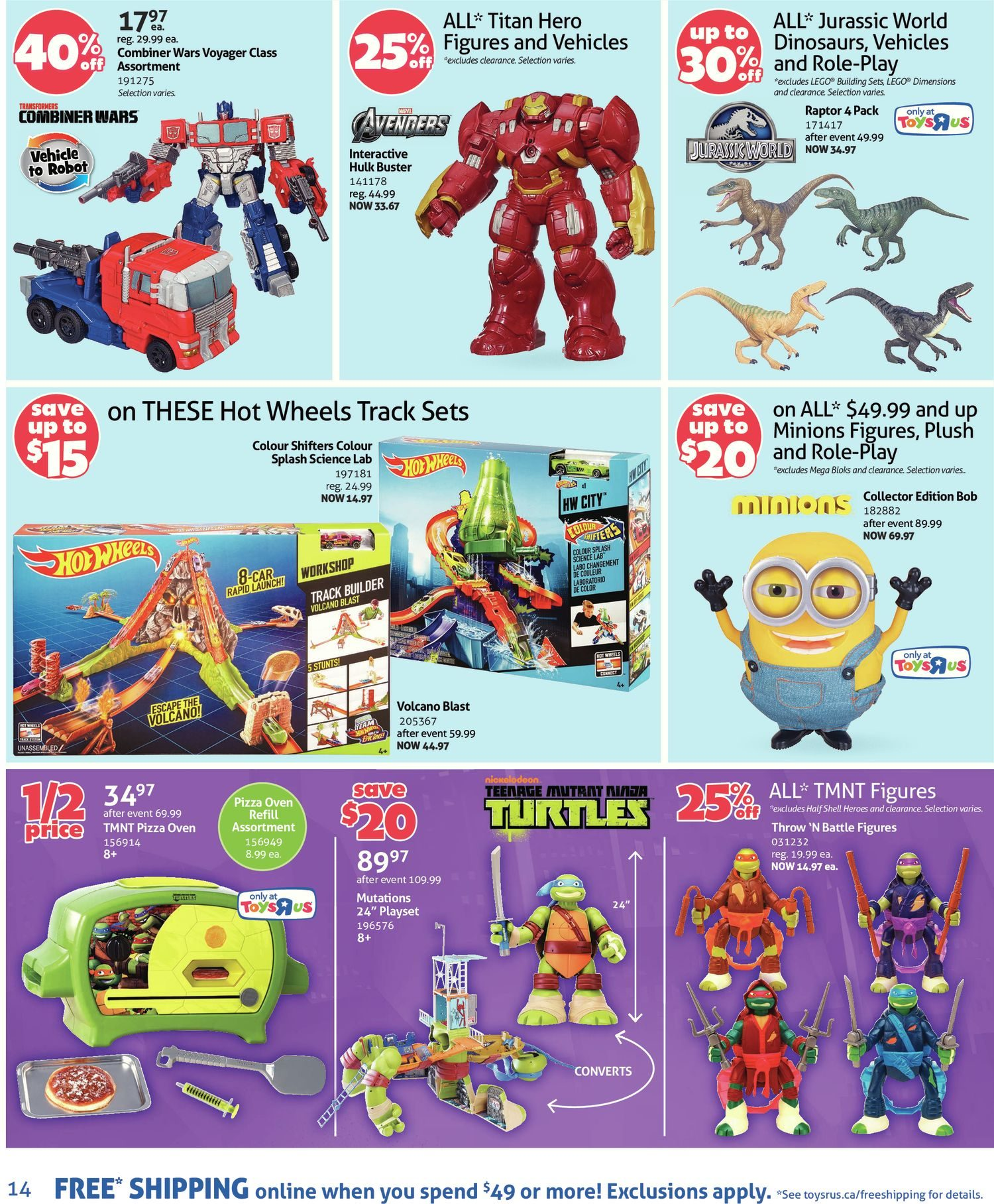 Toys R Us Weekly Flyer - Weekly - Hot Toys at Hot Prices