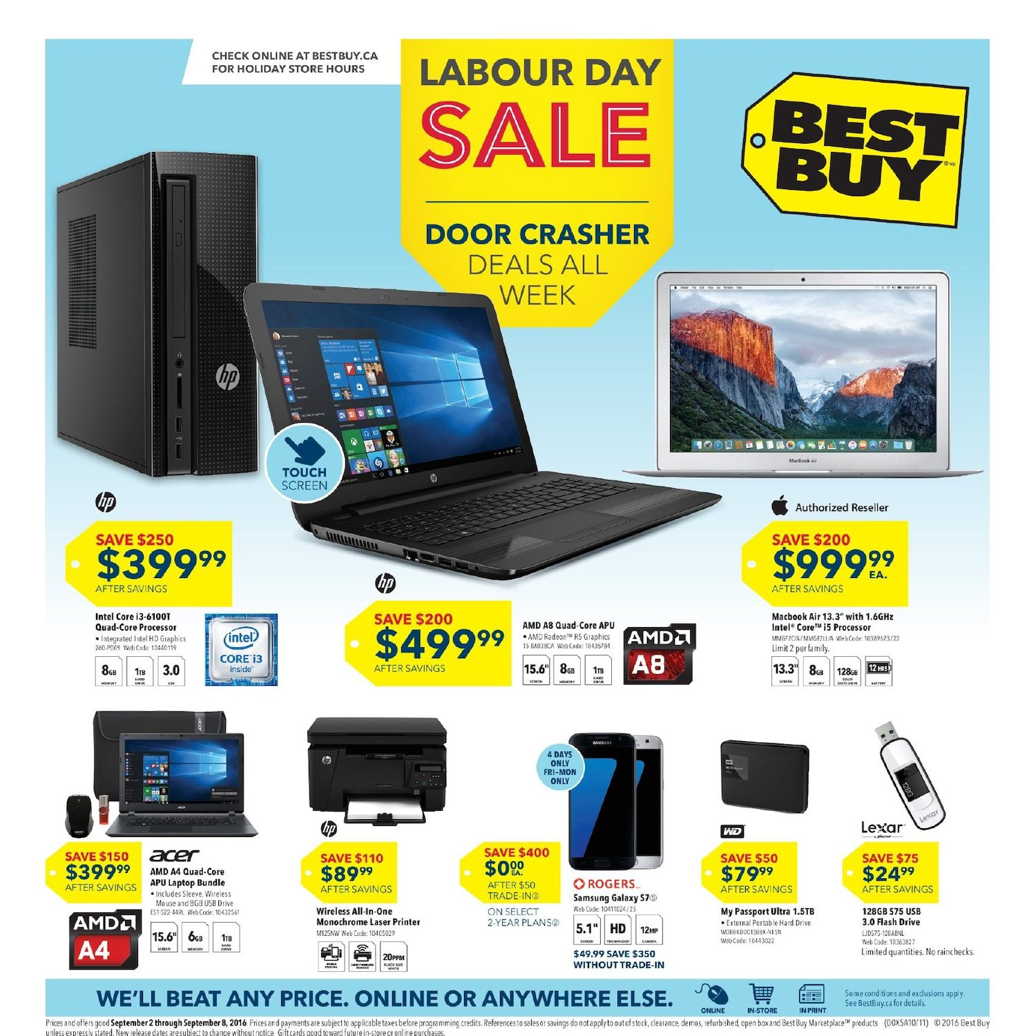 Best buy weekly flyer weekly labour day sale sep 2 8 best buy weekly flyer weekly labour day sale sep 2 8 redflagdeals fandeluxe Image collections