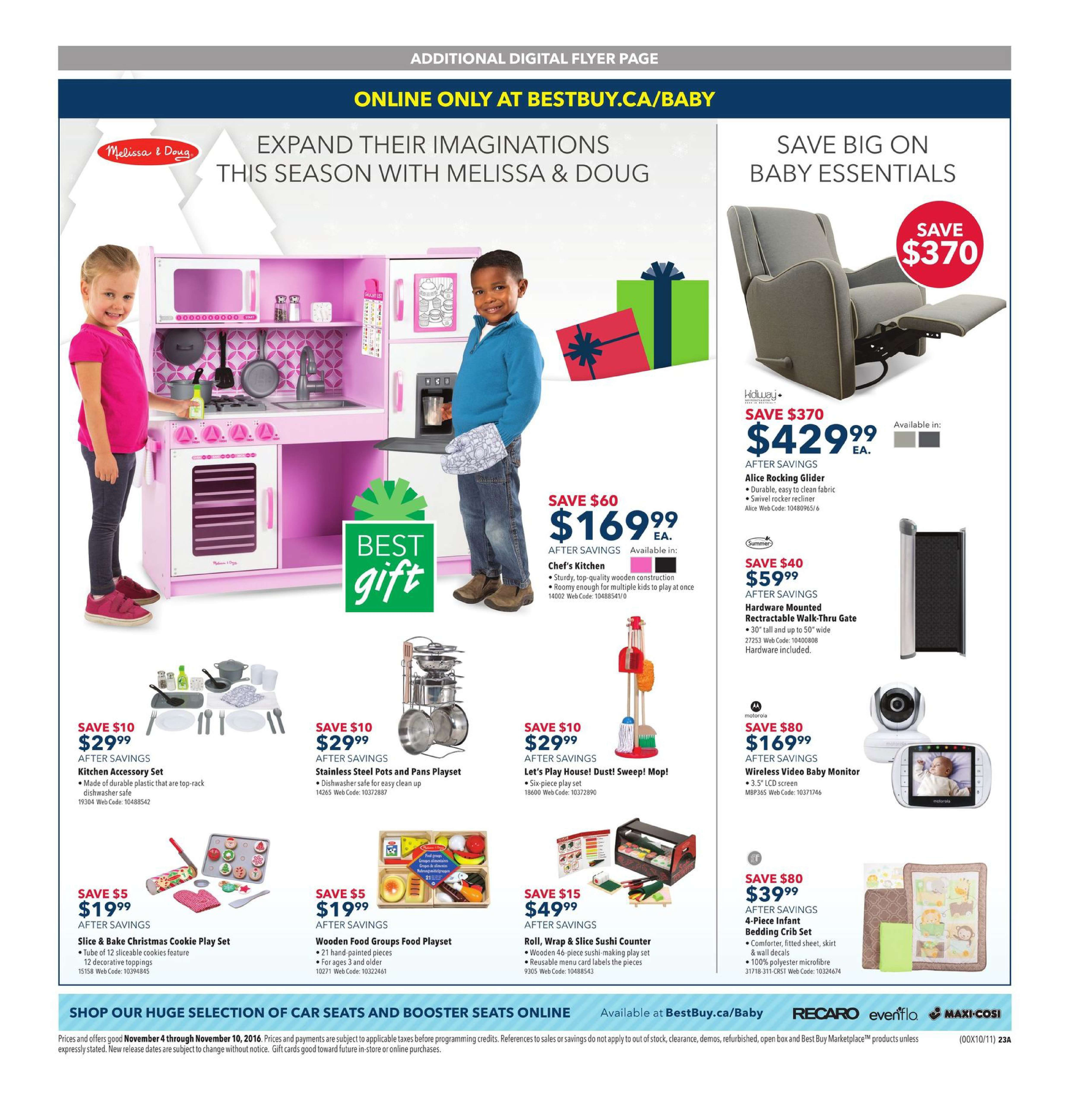 Best Buy Weekly Flyer Holiday Excitement Nov 4 10 Phone Jack Wiring Question For Voip Redflagdealscom Forums