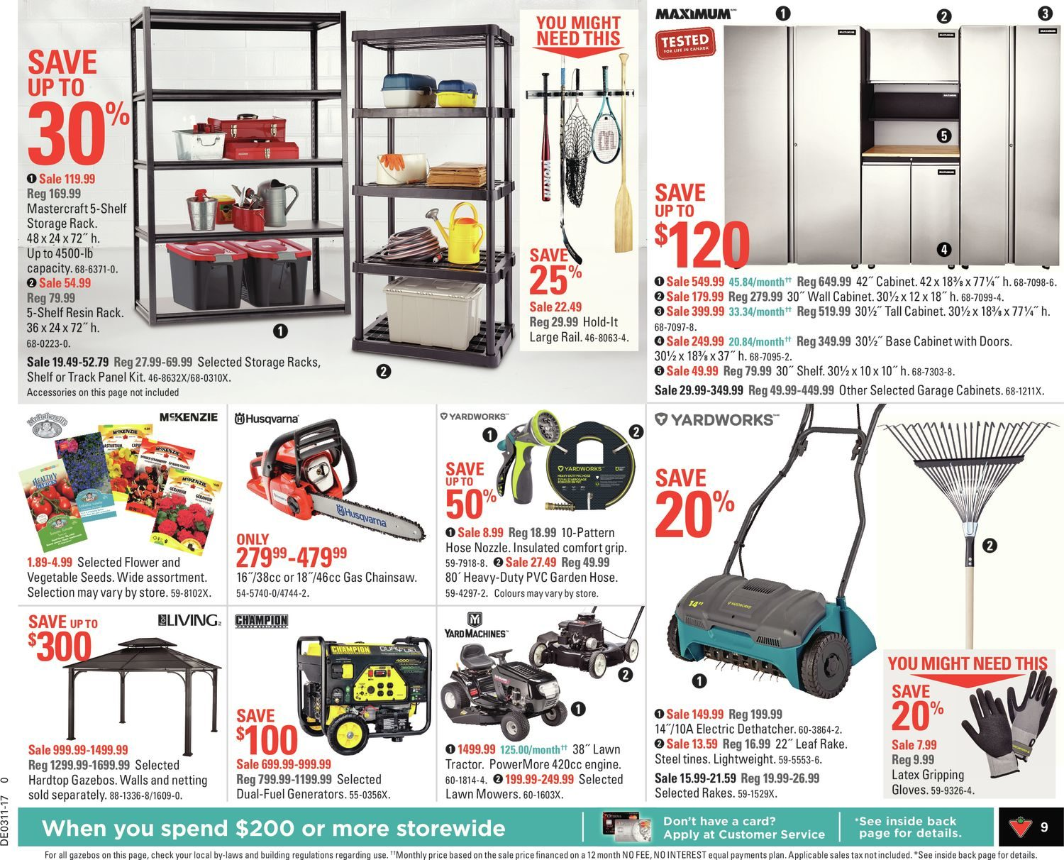 Canadian Tire Weekly Flyer - Weekly - Freshen Things Up! - Mar 10
