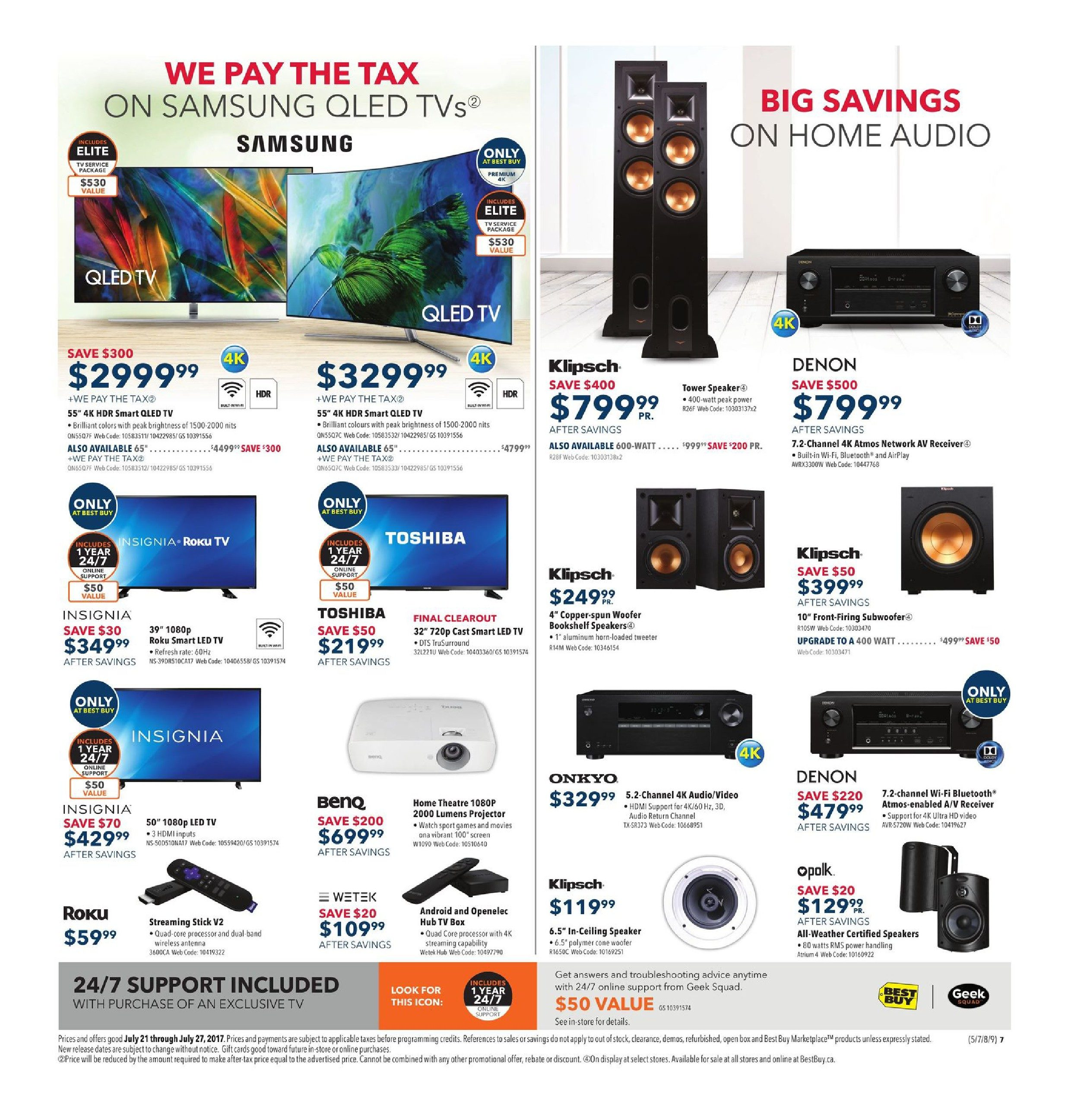 Best buy weekly flyer weekly find amazing deals on the hottest best buy weekly flyer weekly find amazing deals on the hottest tech jul 21 27 redflagdeals fandeluxe Image collections