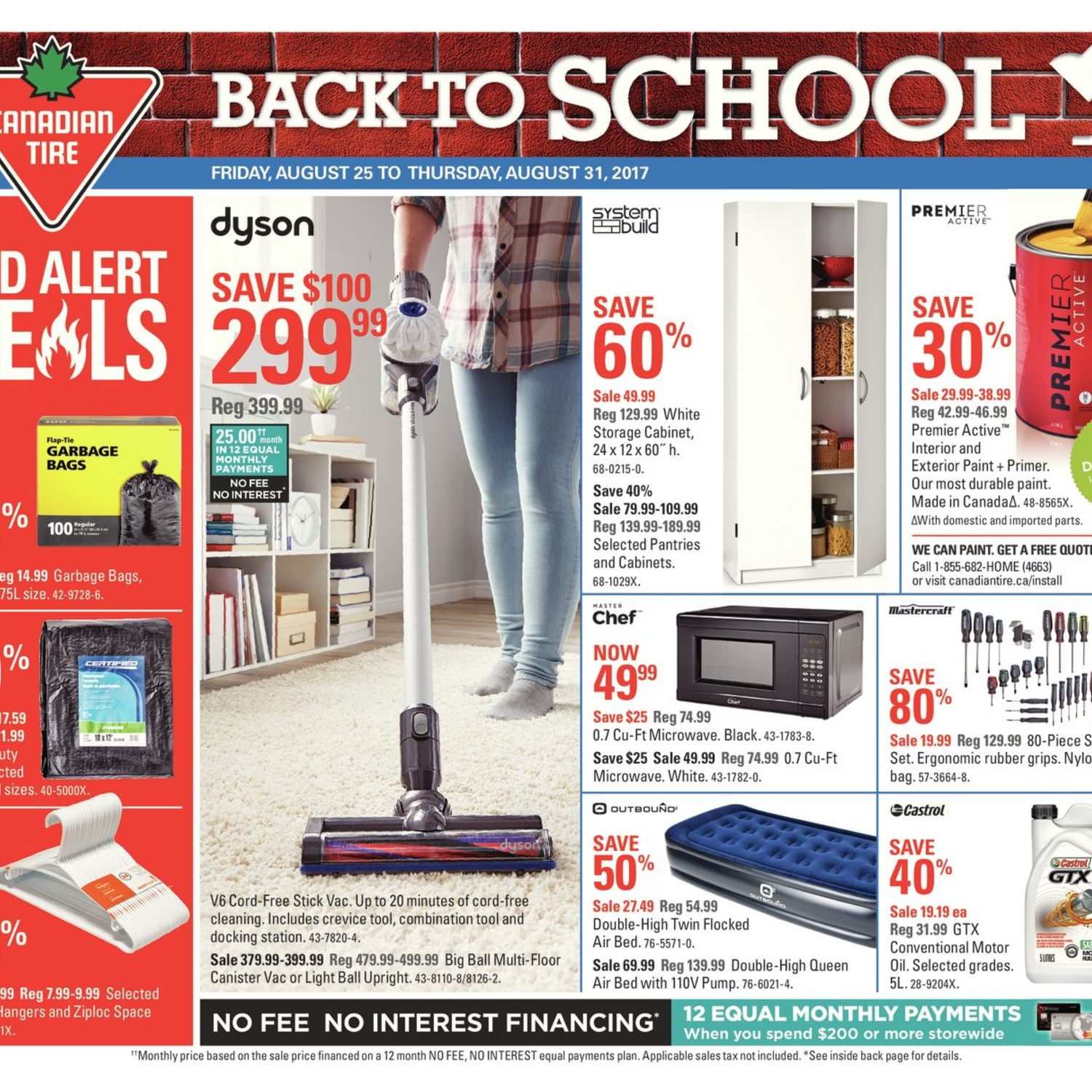 Canadian Tire Weekly Flyer Back To School Aug 25 31 Redflagdeals