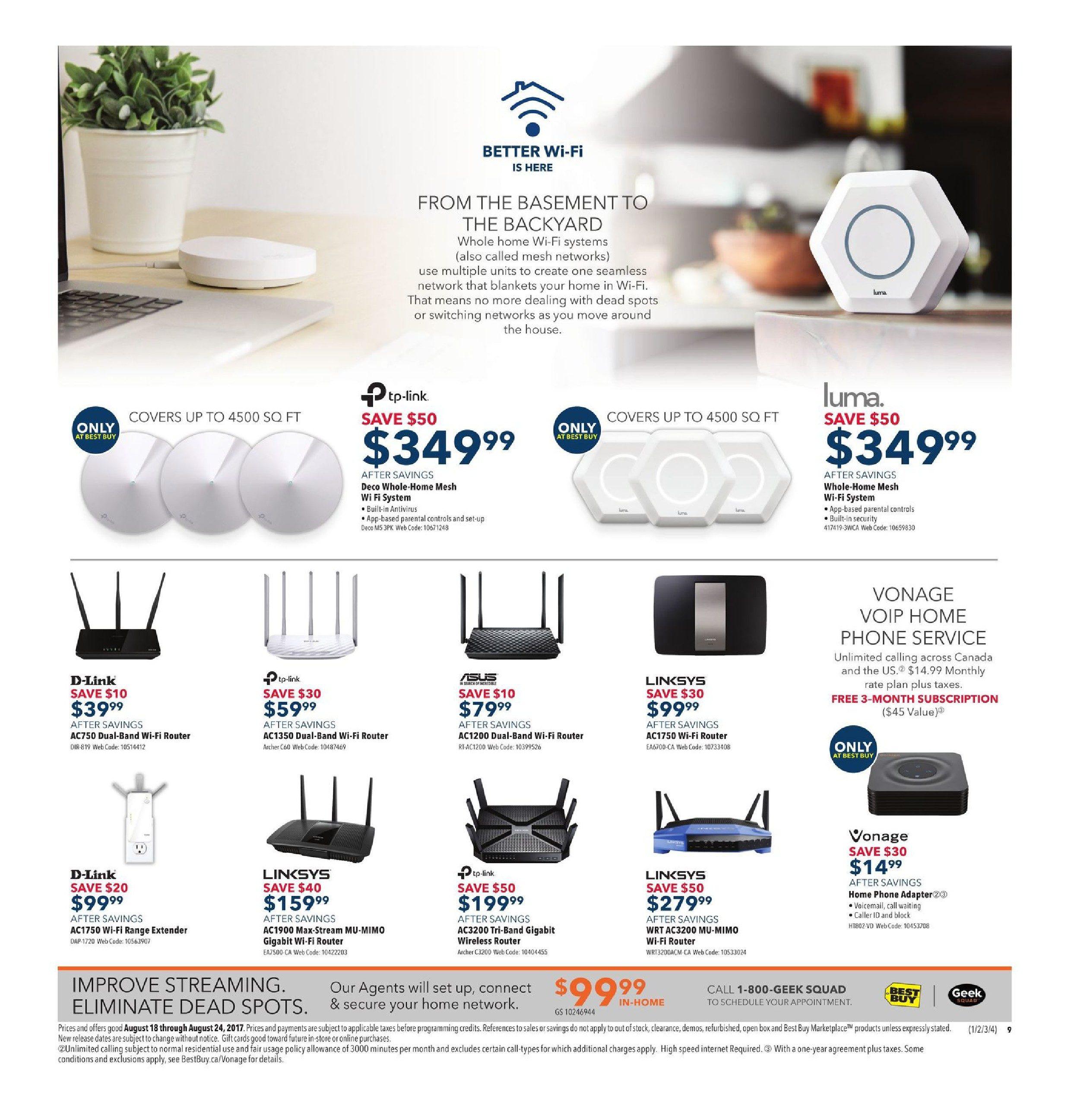 f369804cd2b Best Buy Weekly Flyer - Weekly - Back To School Savings - Aug 18 – 24 -  RedFlagDeals.com