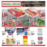 Shop Easy Foods - Weekly Specials - Thanksgiving Essentials Flyer