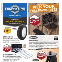 - Make It Work - Pick Your Fall Favourites Flyer