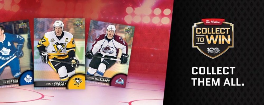 Tim Hortons Collector's Series NHL Trading Cards Have Returned for 2017!
