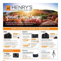 Henry's - Harvest Great Images Flyer