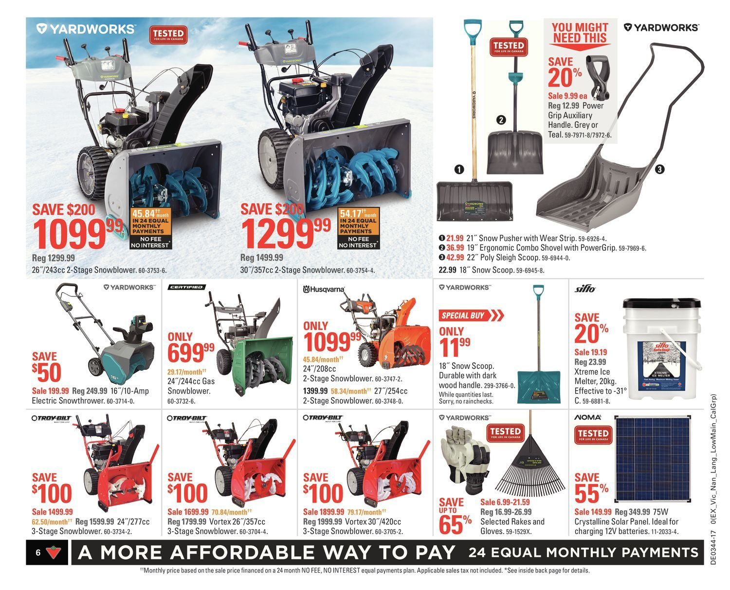 3a2f63efe7 Canadian Tire Weekly Flyer - Weekly - All About Fall - Oct 27 – Nov 2 -  RedFlagDeals.com