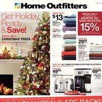 Home Outfitters - Weekly - Get Holiday Ready & Save! Flyer