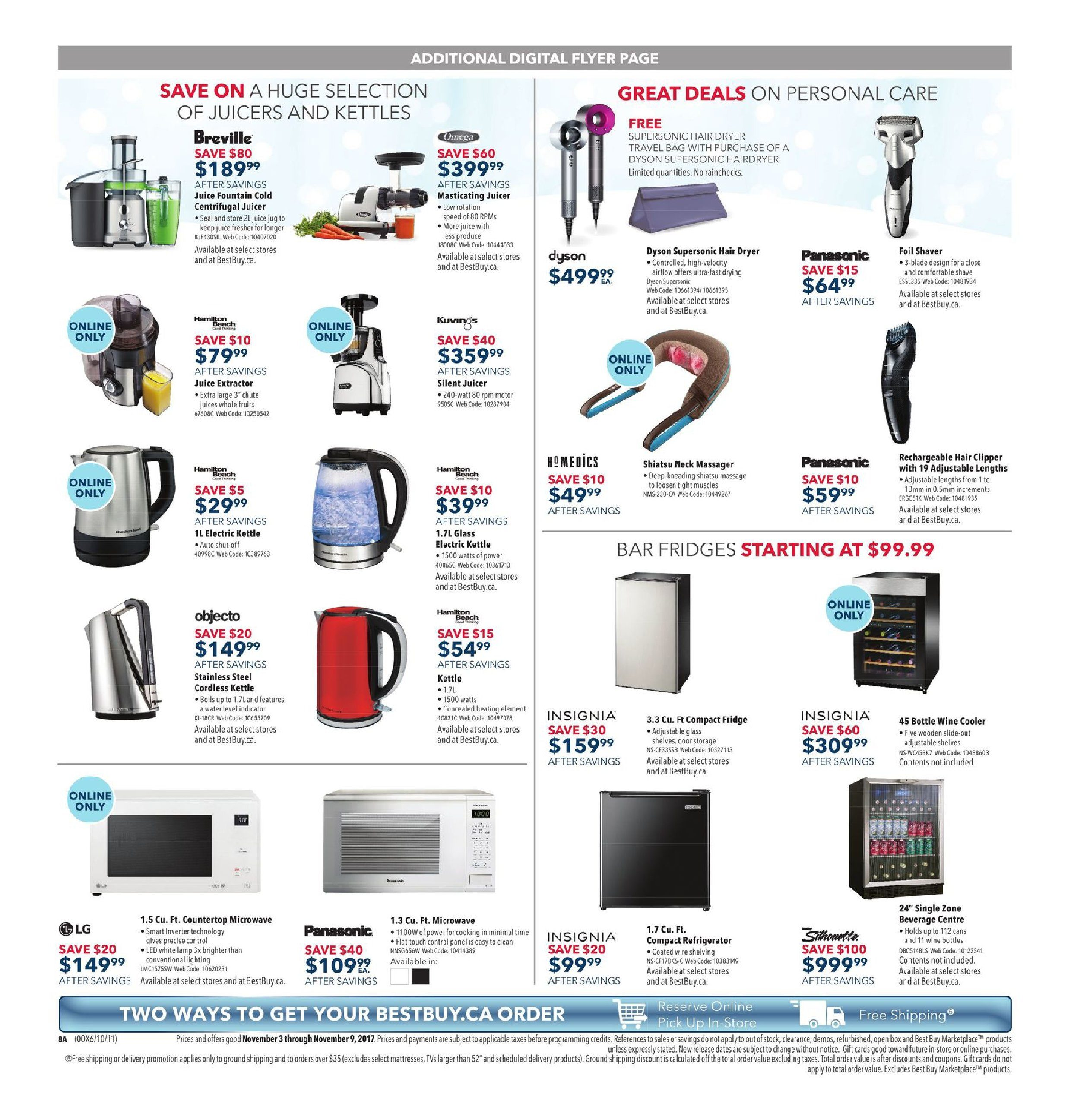 Best Buy Weekly Flyer - Weekly - Unbeatable Deals - Nov 3 – 9 ...