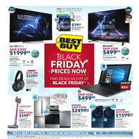 Best Buy - Weekly - Black Friday Prices Now Flyer