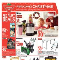 Canadian Tire - Weekly - Here Comes Christmas! Flyer