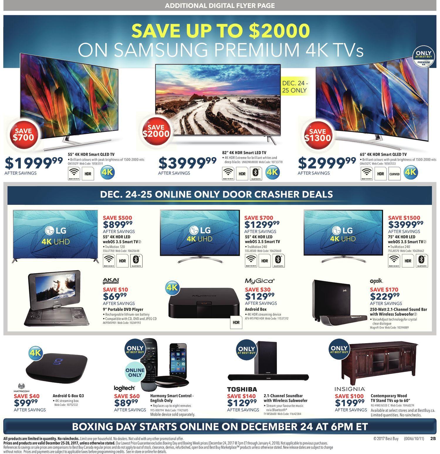 Best Buy Weekly Flyer - Boxing Day Sale - Dec 25 – 25 - RedFlagDeals.com