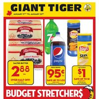 Giant Tiger - Weekly - Budget Stretchers Flyer