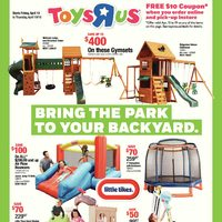 - Weekly - Bring The Park To Your Backyard Flyer