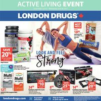 London Drugs - Active Living Event Flyer