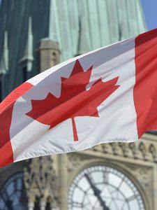 [Simon Hung] How to Get a Massive Canadian Flag from Parliament Hill for Free