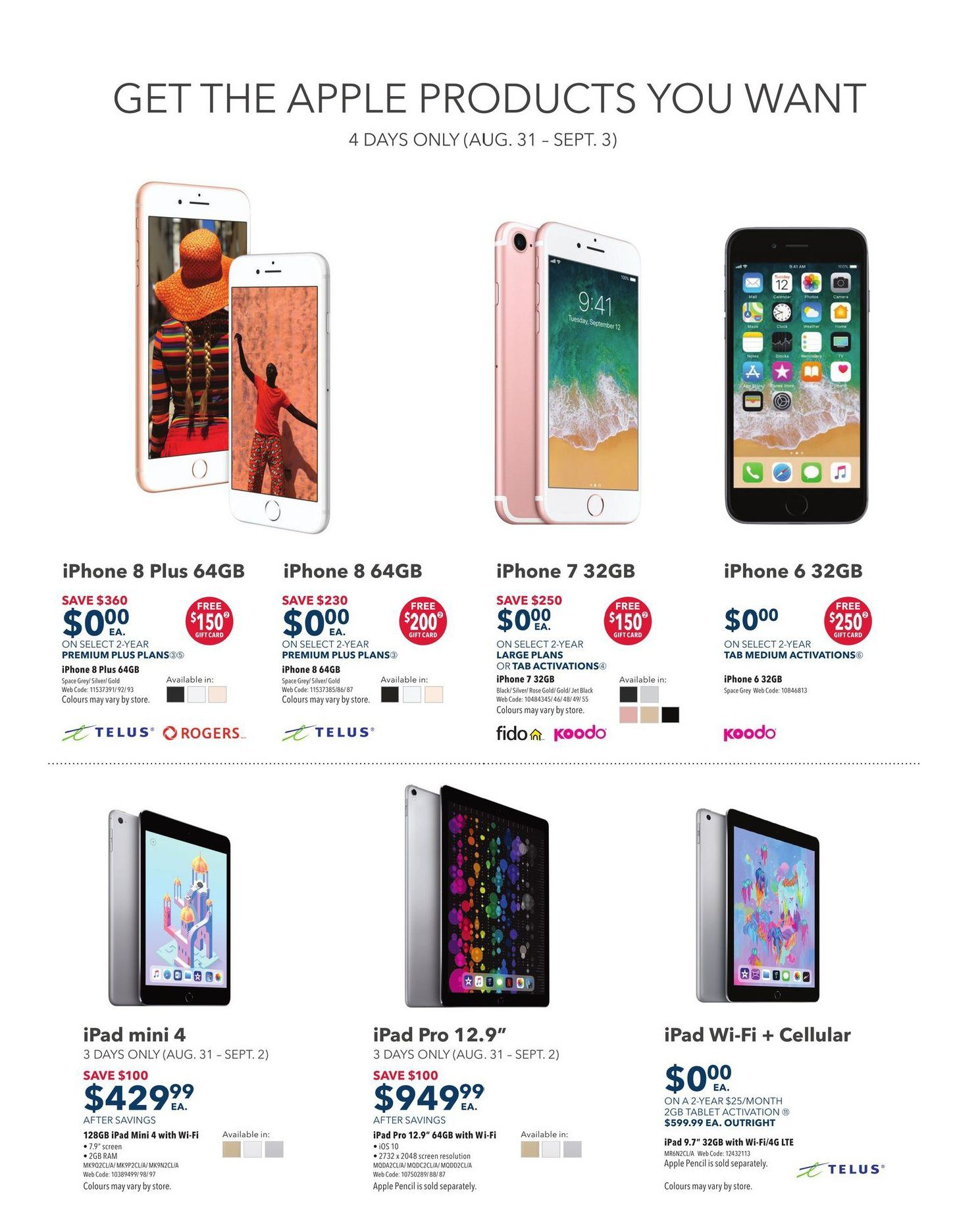 bda6f614fb8 Best Buy Weekly Flyer - Weekly - Labour Day Sale - Aug 31 – Sep 6 ...
