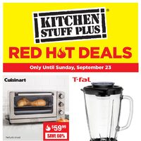 Kitchen Stuff Plus - Red Hot Deals Flyer