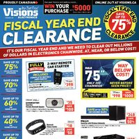 - Weekly - Fiscal Year End Clearance Flyer