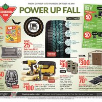 Canadian Tire - Weekly - Power Up Fall Flyer