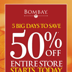 Bombay - 5 Big Days To Save Flyer
