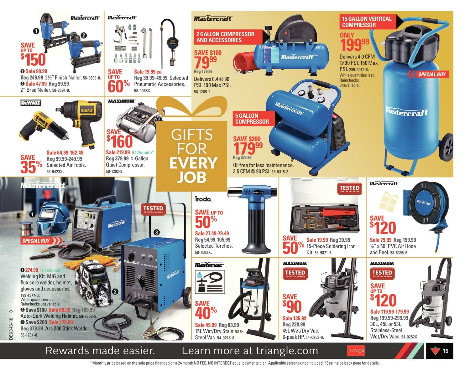 Canadian Tire Weekly Flyer - Weekly - Share The Joy! - Nov 9 – 15
