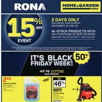 - Home & Garden - It's Black Friday Week! Flyer