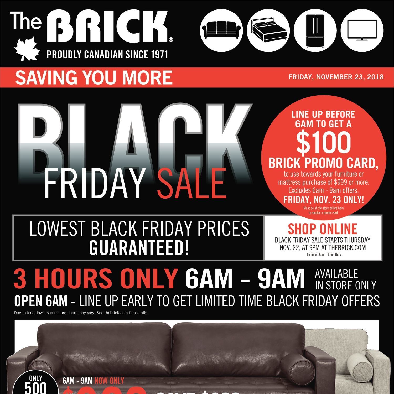 Awe Inspiring The Brick Weekly Flyer Black Friday Sale Nov 23 29 Creativecarmelina Interior Chair Design Creativecarmelinacom
