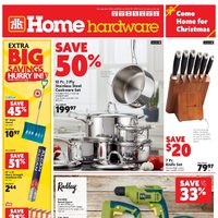 Home Hardware - Weekly - Come Home For Christmas Flyer