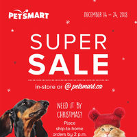 PetSmart - Treats Membership Only - Super Sale Flyer