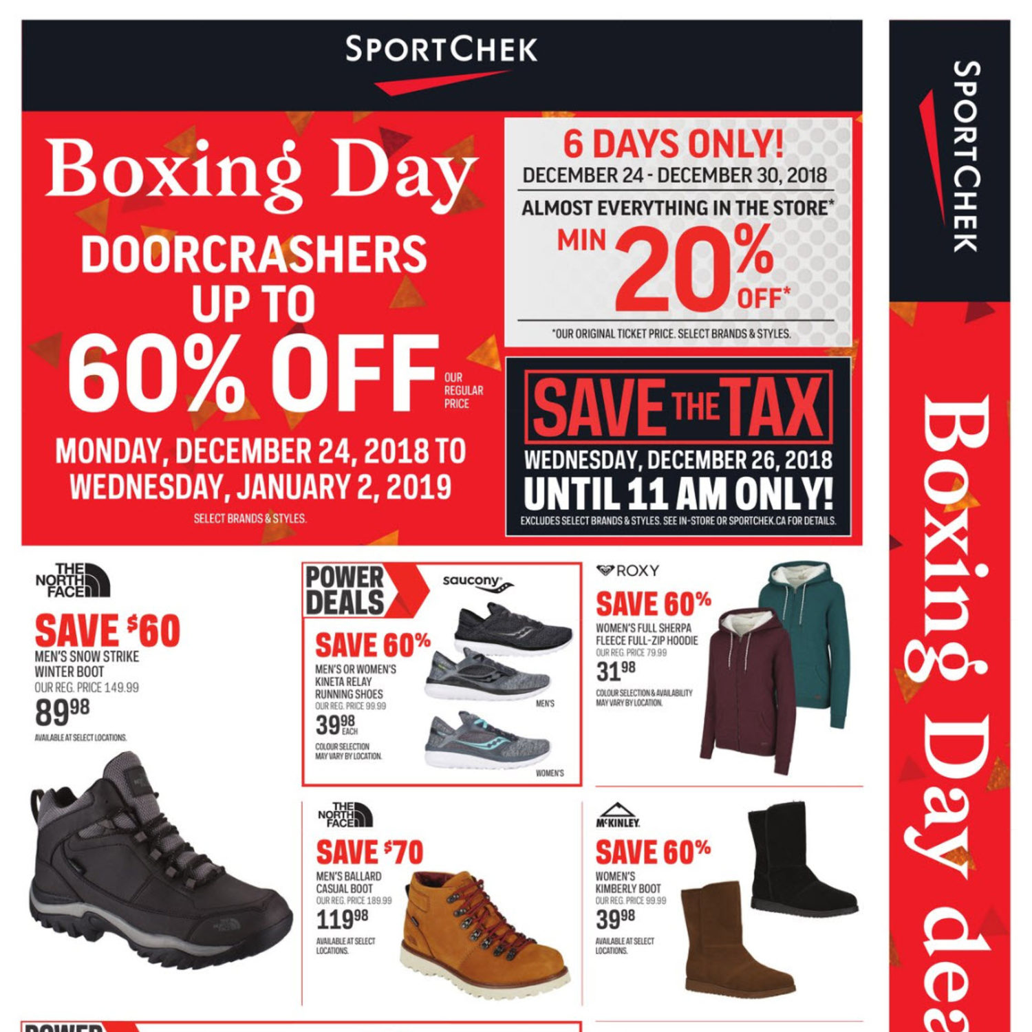 Sport Chek Weekly Flyer - Boxing Day Deals Here! - Dec 24 – Jan 2 -  RedFlagDeals.com 5ffd38e58