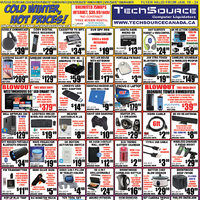 Tech Source - Cold Winter Hot Prices! Flyer