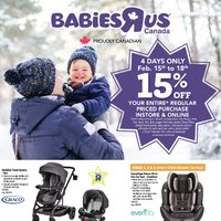 Babies R Us - 4 Day Event! Flyer