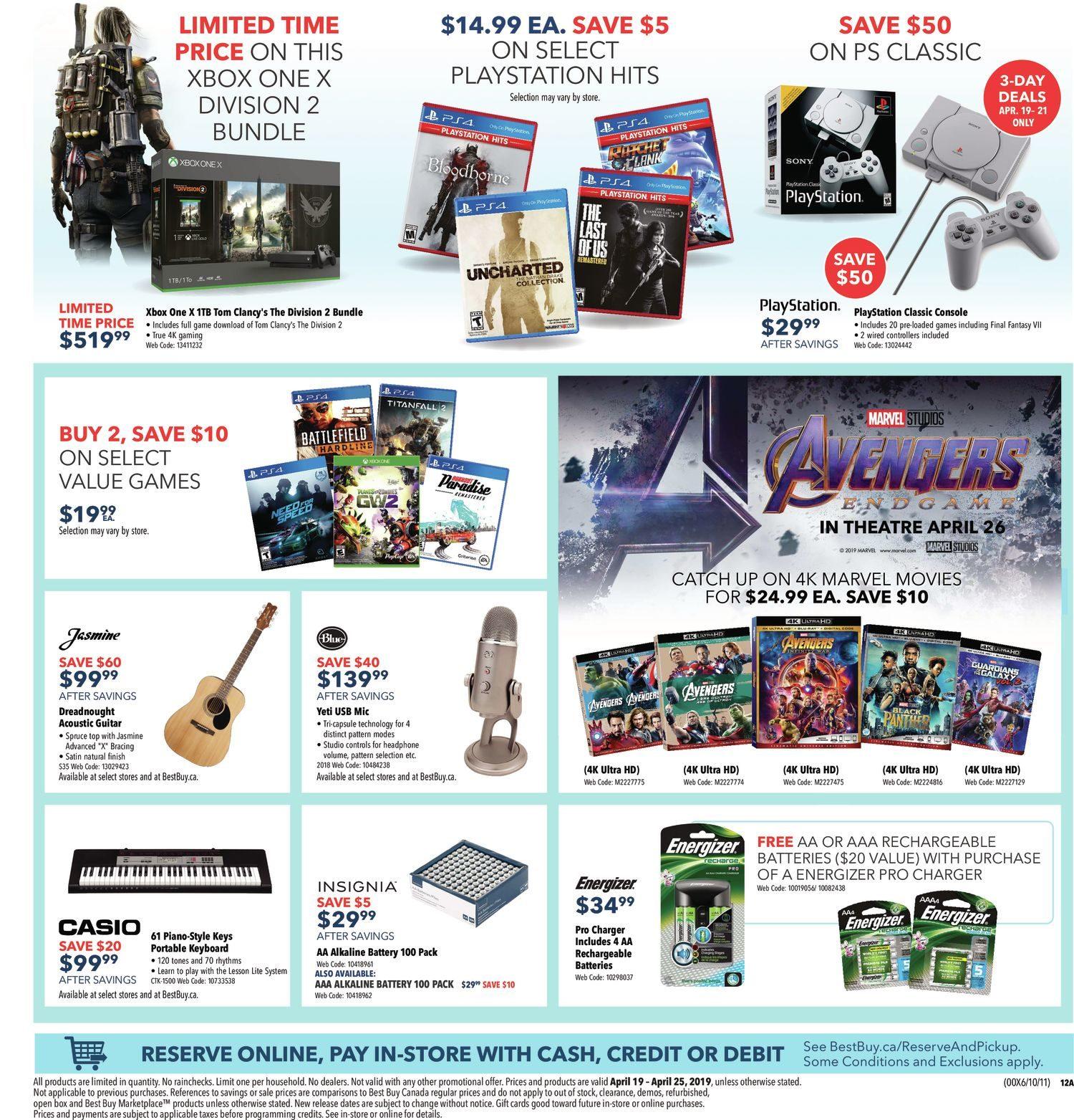Best Buy Weekly Flyer - Weekly - Easter Sale - Apr 19 – 25