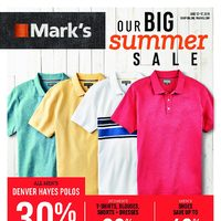 - 6 Days of Savings - Our Big Summer Sale Flyer