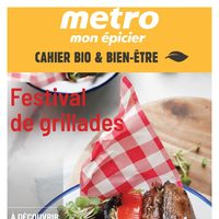 Metro - Well-Being & Organic Booklet - Grill Festival Flyer