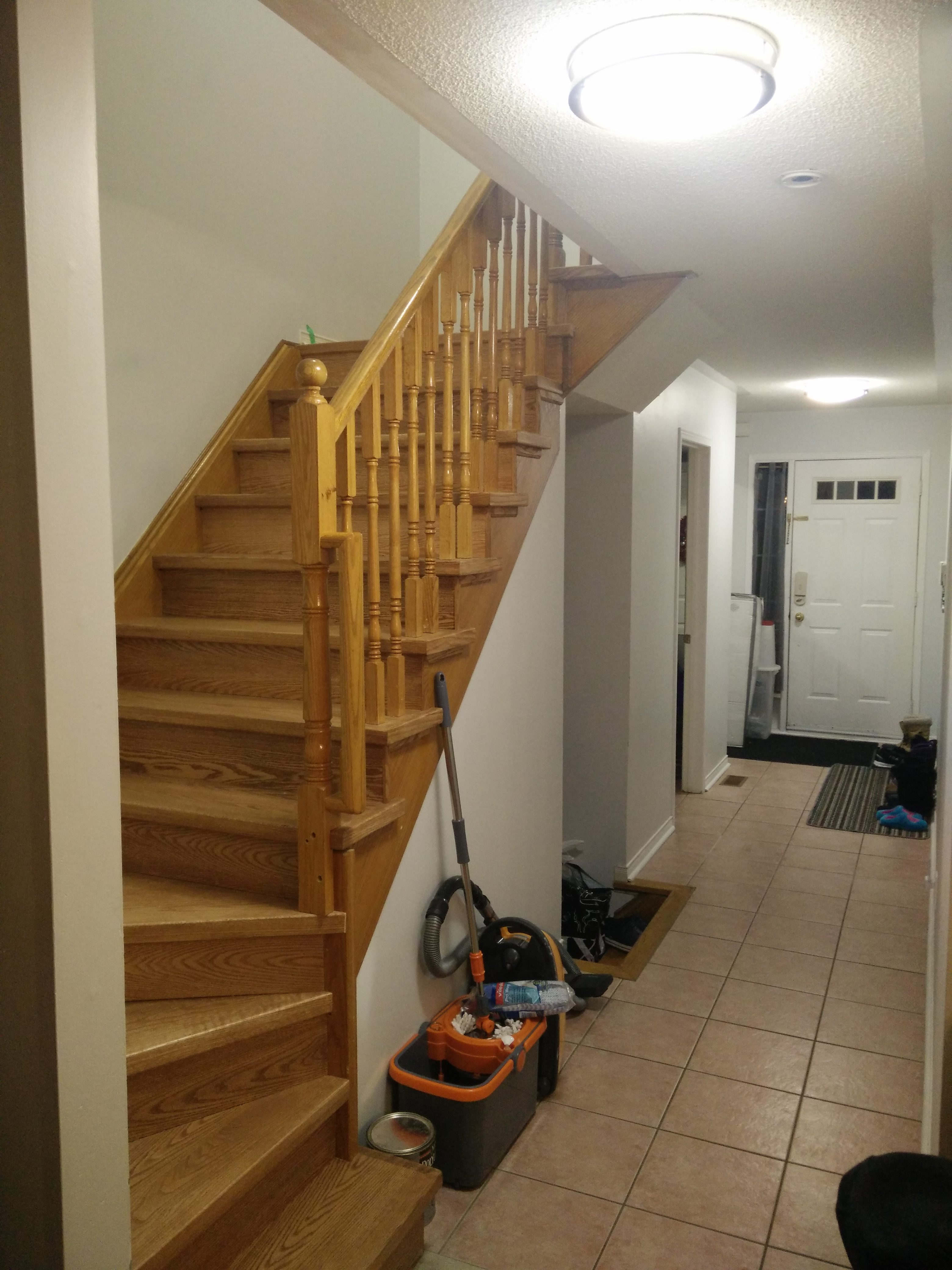 Change Stairs From Carpet To Wood