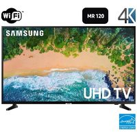 "Samsung 50""-Inch Samsung LED 4K Smart TV, Yamaha Wireless Speakers Wi-Fi And Bluetooth, Yamaha Bluetooth Surround Multi Room Speaker Complete Package"