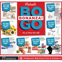 Michaels - Weekly - BOGO Bonanza! Flyer