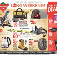 Canadian Tire Flyer - Victoria, BC - RedFlagDeals com