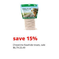 Chewtime Rawhide Treats