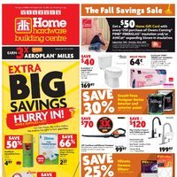 Home Hardware - Building Centre - The Fall Savings Sale Flyer