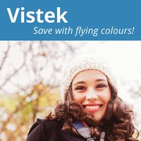 Vistek - Save With Flying Colours! Flyer