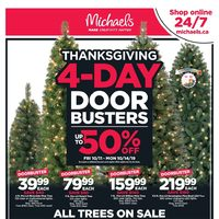 Michaels - Weekly Deals Flyer