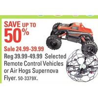 Remote Control Vehicles or Air Hogs Supernova Flyer