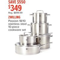 Zwilling Passion 18/10 Stainless Steel Cookware Set