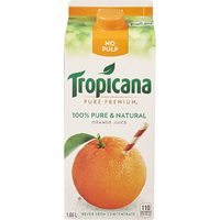 Tropicana Juice or Pure Leaf Tea, Simply Juice or Gold Peak Iced Tea or Danone Activia Yogurt