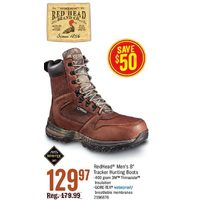 Red Head Men's 8 Tracker Hunting Boots